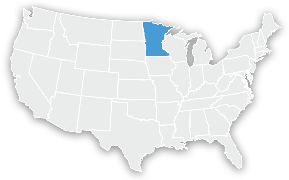 US Map - Minnesota